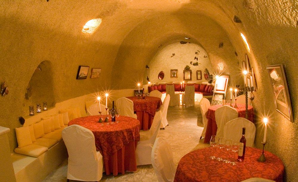 Cave wine bar restaurant